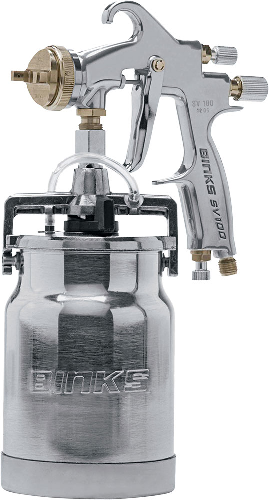 BINKS SV100S SIPHON FEED GUN WC
