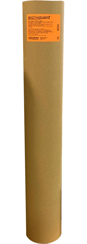 "42"" X 300' BROWN PAPER ROLL BOOTH GUARD FIRE RESISTANT"
