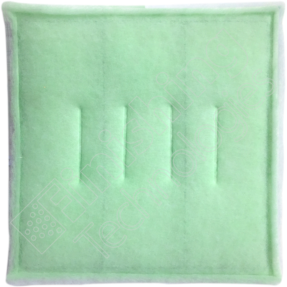 "CTN(24) 20""X20""X1.5"" FILTER  SL-3A,2PLY, TACKY GREEN MERV 8"