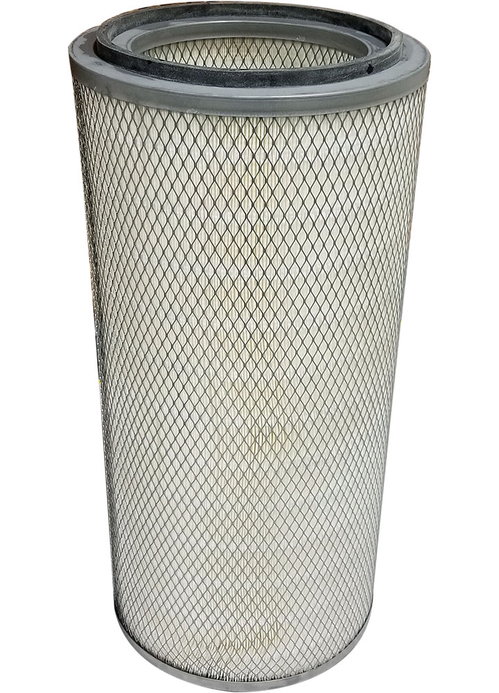 "POWDER CARTRIDGE FILTER 26"" L