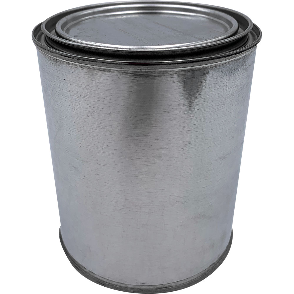 CASE(56) M/T ROUND EMPTY QUART CAN WITH LID